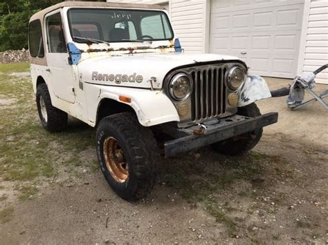 Jeep Cj7 Parts 1976 Jeep Cj7 Project Parts Rock Crawler Mud Bog For