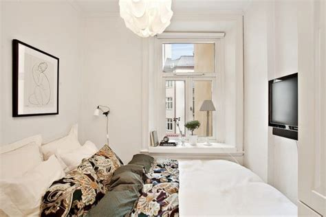 small white bedroom small yet spacious and beautifully organized 39 square