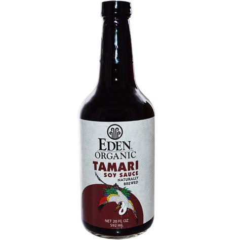 Eden Foods, Organic, Tamari Soy Sauce, 20 fl oz (592 ml)   iHerb.com