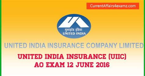 united india insurance uiic starts gk questions asked in uiic ao 12 june 2016 evening