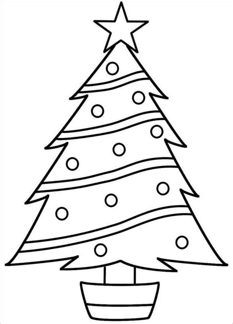 coloring page exles tree templates free premium