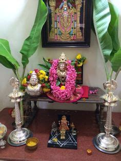 pooja decorations at home my first varalakshmi vratham decoration at home desi