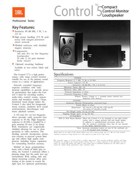 The Manual Of Speaking free pdf for jbl 5 speaker manual