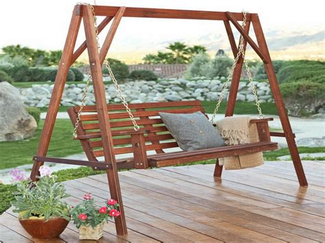unique porch swings wooden porch swings the unique furniture for garden and