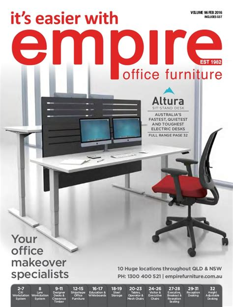 office furniture brochure empire office furniture brochure