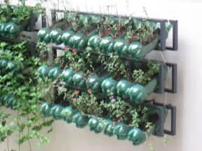 Bottle Vertical Garden Vertical Gardening With Recyclables N Grow It