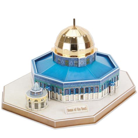 Best Seller Cubic Puzzle 3d The Dome Of The Rock Large Size 3d puzzle dome of the rock difficulty 4 8 cubic