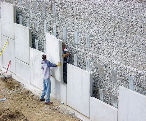 Architectural Wall Systems Oman - ares 174 retaining wall systems tensar international