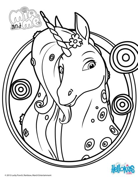 maggie the magic unicorn coloring book books lyria coloring pages hellokids