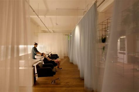 modern beauty salon  sydney dazzles   sustainable