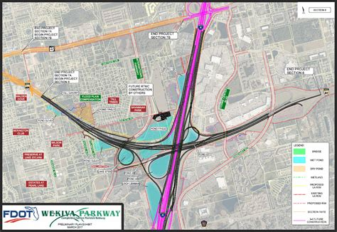 lake county section 8 wekiva parkway fdot sections