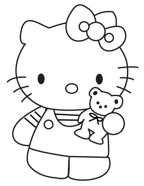 teddy bear coloring pages free printable coloring home