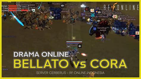 duel war cora  bellato rf  indonesia youtube
