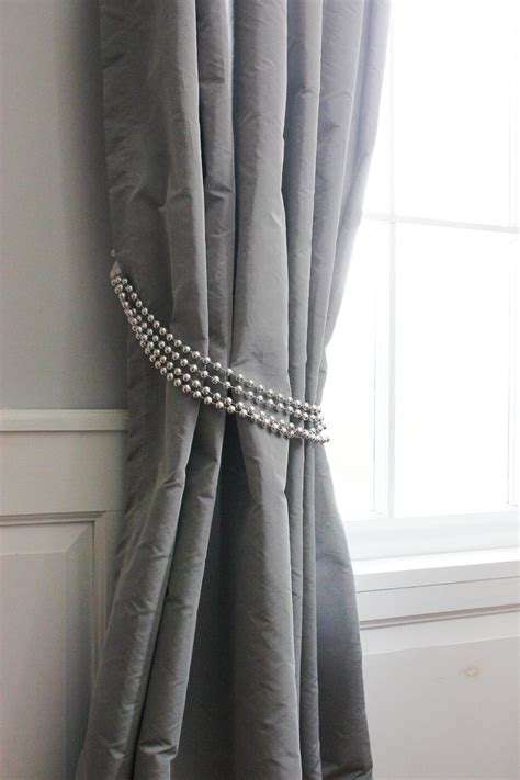 how to tie back curtains diy decorative curtain tie backs goodwill industries of