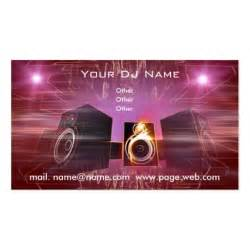 dj business card template business dj sided standard business cards pack of