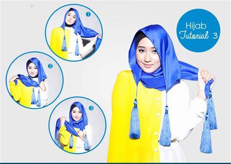 tutorial segi empat praktis tutorial hijab segi empat dian pelangi lebih simple dan