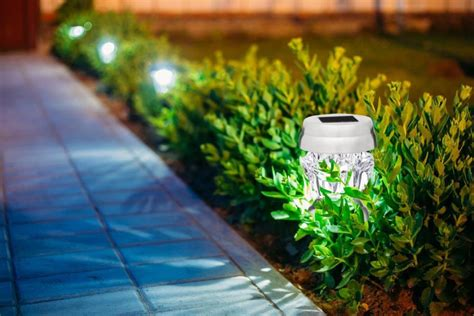 best solar landscape lighting best solar garden lights brightest solar landscape