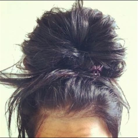 pics of black pretty big hair buns with added hair best 25 big messy buns ideas on pinterest second day
