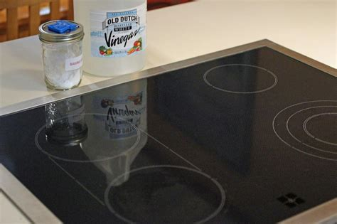 Glass Scrub how to clean a glass top stove with all