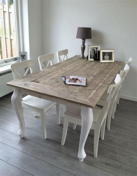 landelijke tafel zelf maken tafels maison landelijke stijl jorg s houten meubelen