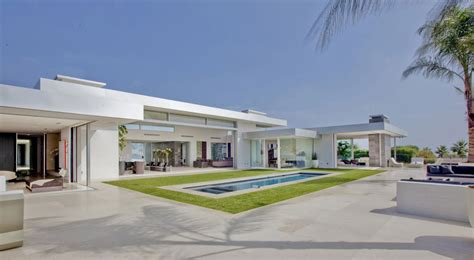 modern 70 s home design 70s home transformed into modern beverly hills masterpiece