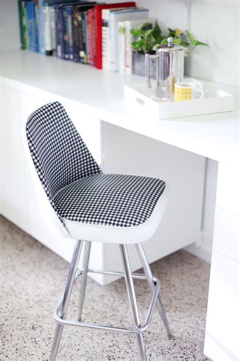 Chair Makeover by Vinyl Chair Makeover A Beautiful Mess
