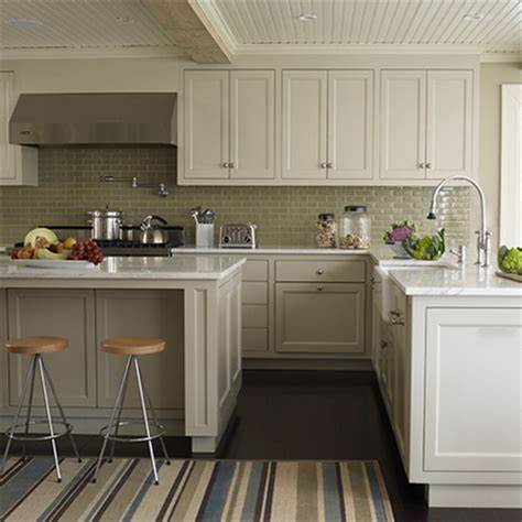 Plain White Melamine Kitchen Goes Coastal Shaker Frame White Melamine Kitchen Cabinets