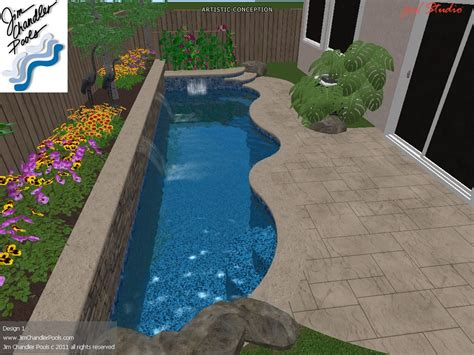 swimming pool designs for small yards triyae com very small backyard pools various design