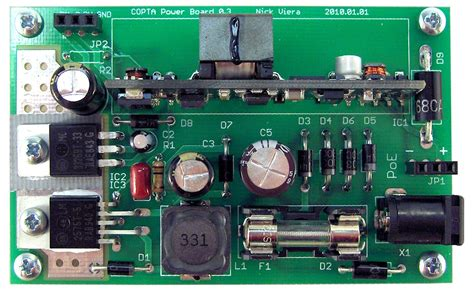 layout pcb power supply that power supply