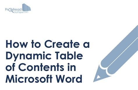 How To Add Table Of Contents In Word 2010 by Ms Word Tips Archives Proofreadmyessay S Academic