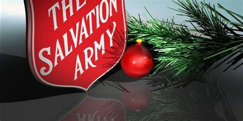 salvation army  charleston  kick  annual angel tree red kettle campaign