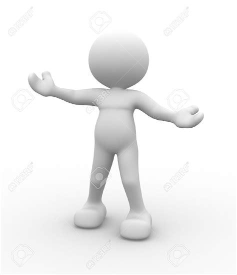 figure 3d 3d stick figure clip cliparts
