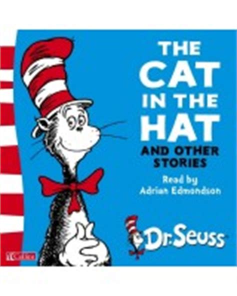 the cat in the hat in english and the cat in the hat and other stories dr seuss audiobook cd english wooks