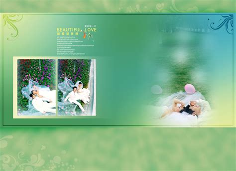 photo album template psd wedding album template psd material free vector graphic