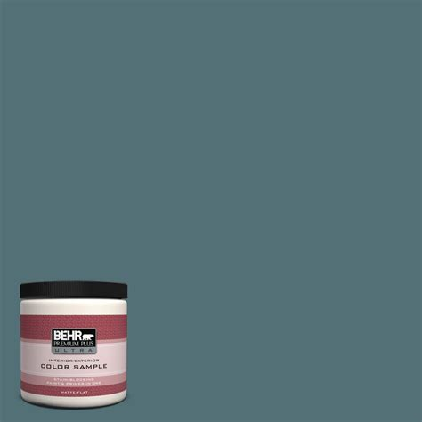 behr premium plus ultra 8 oz home decorators collection sophisticated teal interior exterior