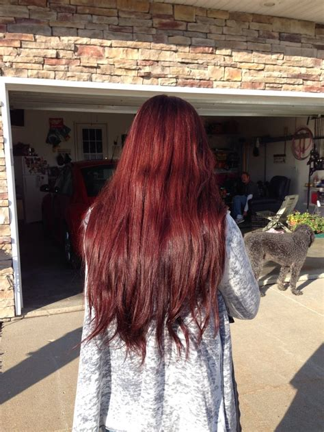 cherry coke hair color formula 710 best images about hair colors on pinterest redken