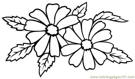 Types Of Flowers Coloring Pages | types of wedding flowers coloring page free flowers