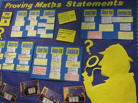 themes for ks2 proving maths statements year 6 maths display math