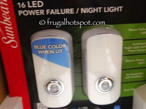 sunbeam power failure night light manual costco sale sunbeam 16 led power failure night light 2 pk