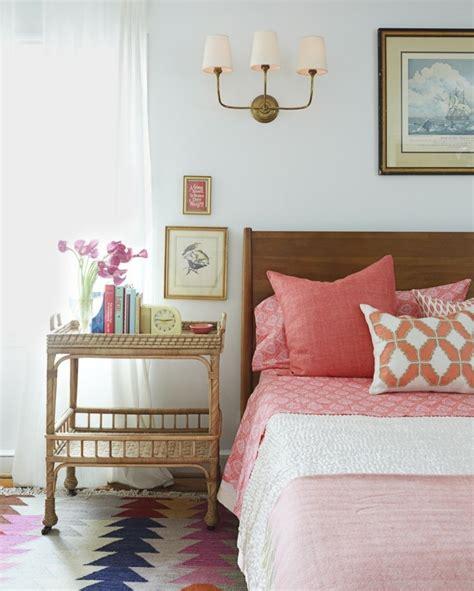 orange schlafzimmerdekor 77 deko ideen schlafzimmer f 252 r einen harmonischen und