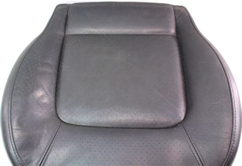 genuine leather chair pads front seat cushion foam 98 05 vw beetle black leather