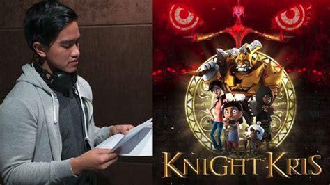 Film Animasi Knight Kris | kaesang sumbangkan suaranya di film animasi quot knight kris