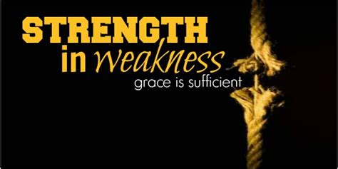 grace revealed finding god s strength in any crisis books there is strength in weakness the weekly word much more