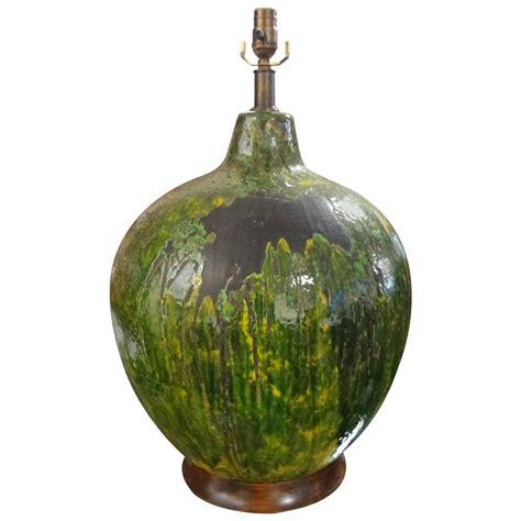 mid century ceramic l huge mid century italian drip glaze pottery l for sale