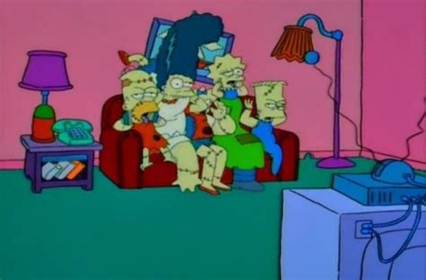 couch gag dismembered family couch gag simpsons wiki fandom