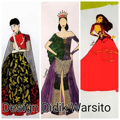 fashion illustration kursus design didik warsito kursus tata busana wiwi