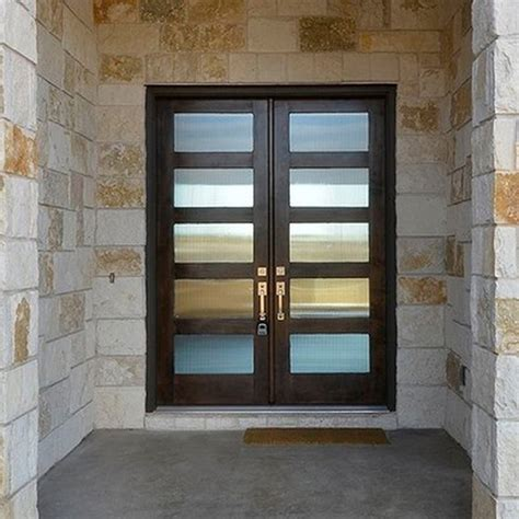 Modern Glass Exterior Doors Residential Luxury Door Collections Contemporary Entry By Doors4home