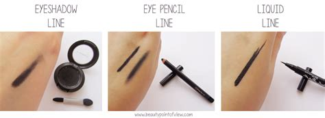 eyeliner tutorial pencil cream gel liquid eyeliner soft line vs sharp line beauty point of view