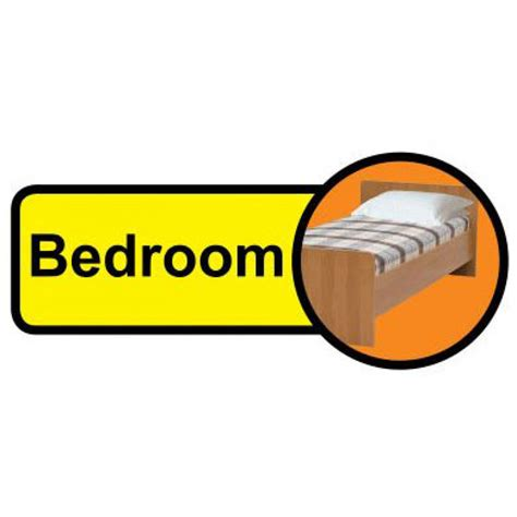 bedroom signs dementia friendly oblong bedroom sign healthcare co uk
