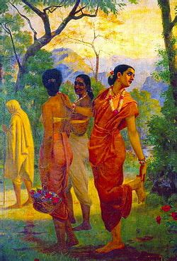 paint with a twist otr shakuntala raja ravi varma